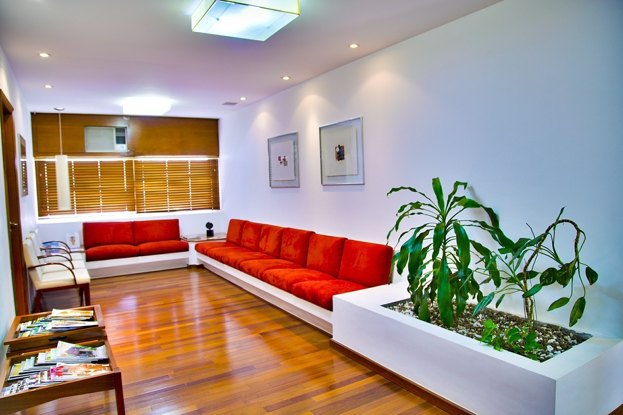 Our new waiting room