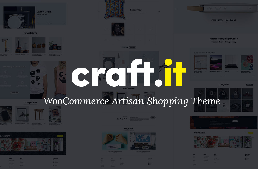 Craftit WooCommerce Shopping Theme