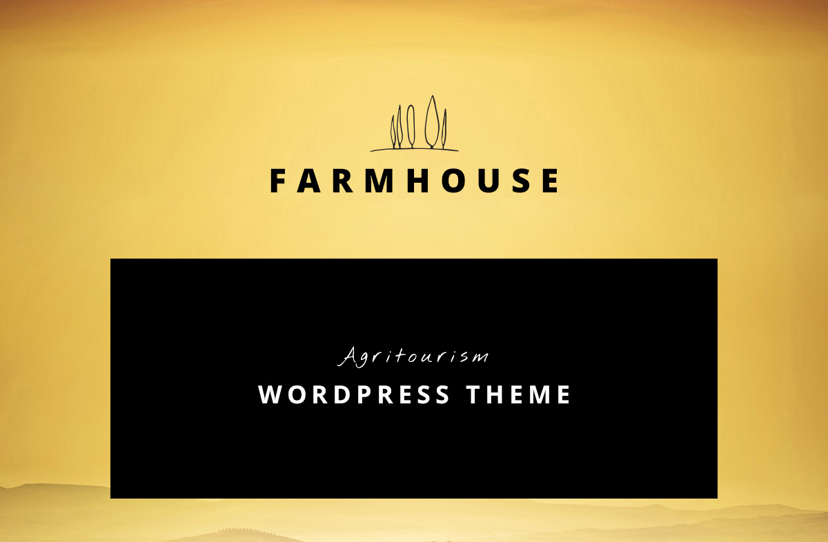 Farmhouse - Agrotourism, Farming and Agriculture theme